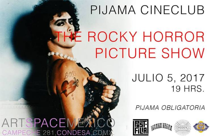 pijamada rocky horror picture show