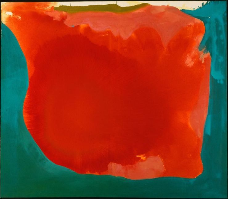 Canyon by Helen Frankenthaler (1965)